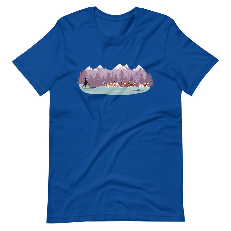 Mushing Unisex T-Shirt