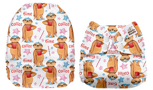 Mama Koala  - 26075 Coffee Sloths *Upright Bum