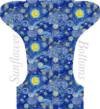 Load image into Gallery viewer, Happy Flute Customs- Van Gogh Pocket Diaper