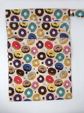 Load image into Gallery viewer, Happy Flute Customs- MK Doughnuts Wet Bag
