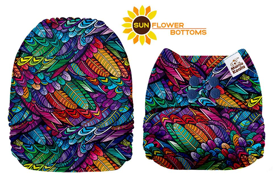 Mama Koala - Rainbow Feathers Exclusive *Upright Bum