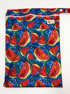 Sunflower Bottoms Wet Bag - Blue Watermelon