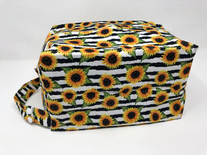 Sunflower Bottoms Diaper Pod - Striped Sunflower