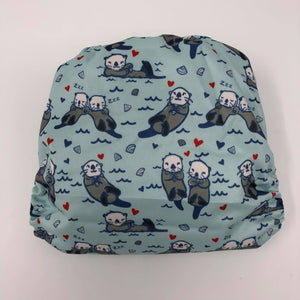 Sunflower Bottoms Pocket Diaper - Otters