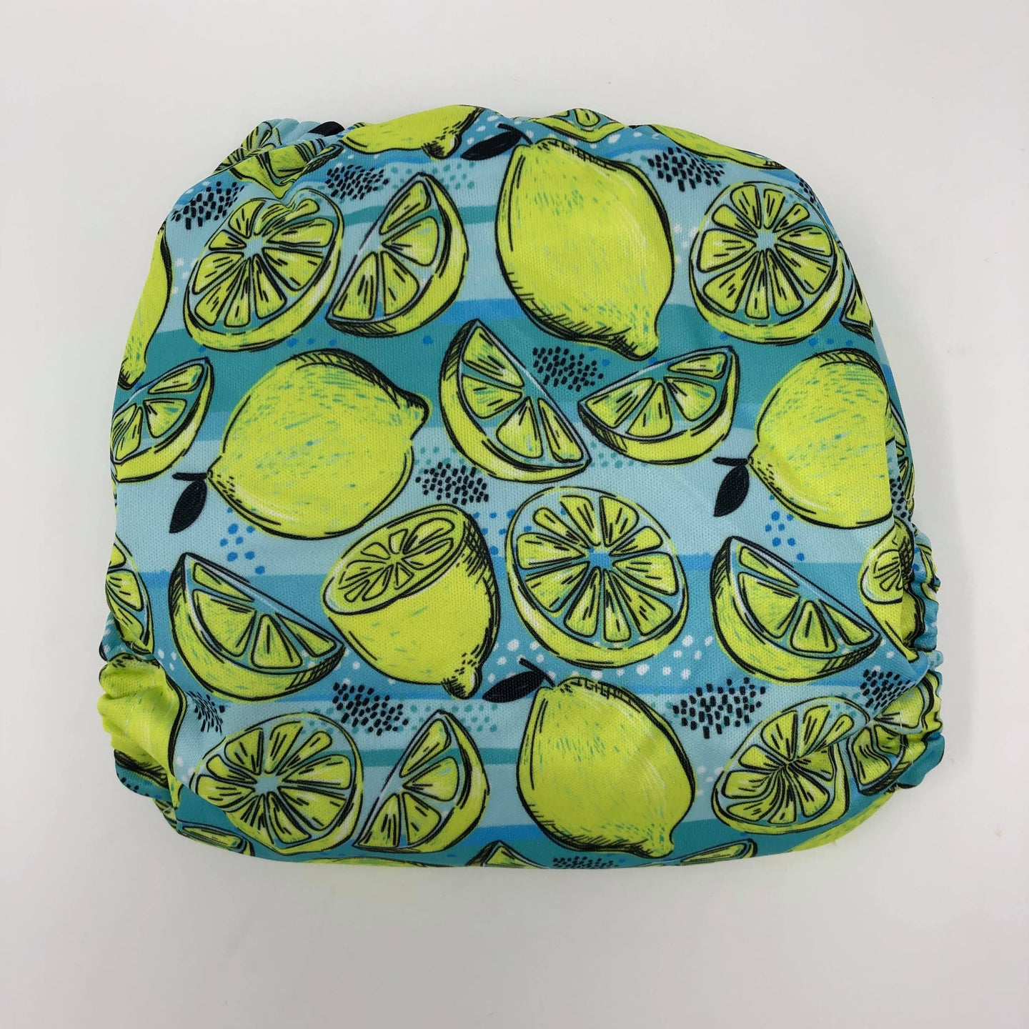 Sunflower Bottoms Pocket Diaper - Lemons