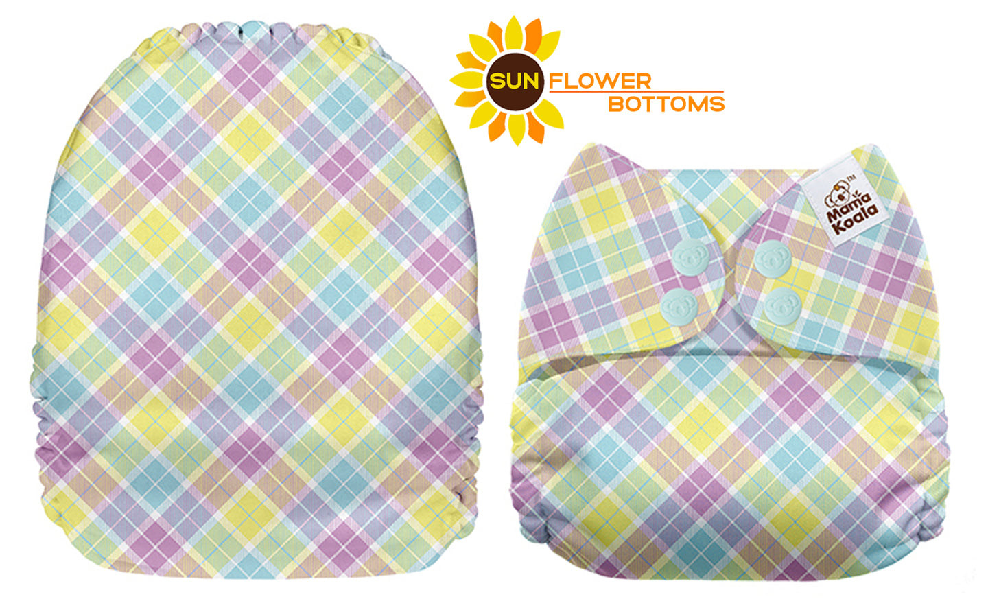 Mama Koala  - Rainbow Plaid Exclusive A398