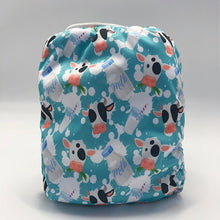 Load image into Gallery viewer, Sunflower Bottoms Pocket Diaper - Cows
