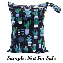 Load image into Gallery viewer, Sunflower Bottoms Wet Bag - Floral Cones