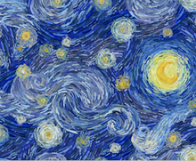 Load image into Gallery viewer, Happy Flute Customs- Van Gogh Diaper Pod