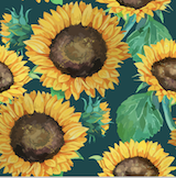 Load image into Gallery viewer, Happy Flute Customs- Sunflower Wet Bag