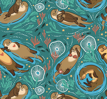 Load image into Gallery viewer, Happy Flute Customs- Otter Diaper Pod