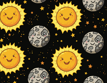 Load image into Gallery viewer, Sunflower Bottoms Wet Bag - Suns & Moons