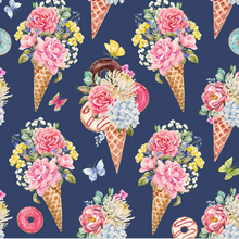 Load image into Gallery viewer, Sunflower Bottoms Diaper Pod - Floral Cones