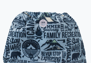 Diaper Cover - Super - Campout