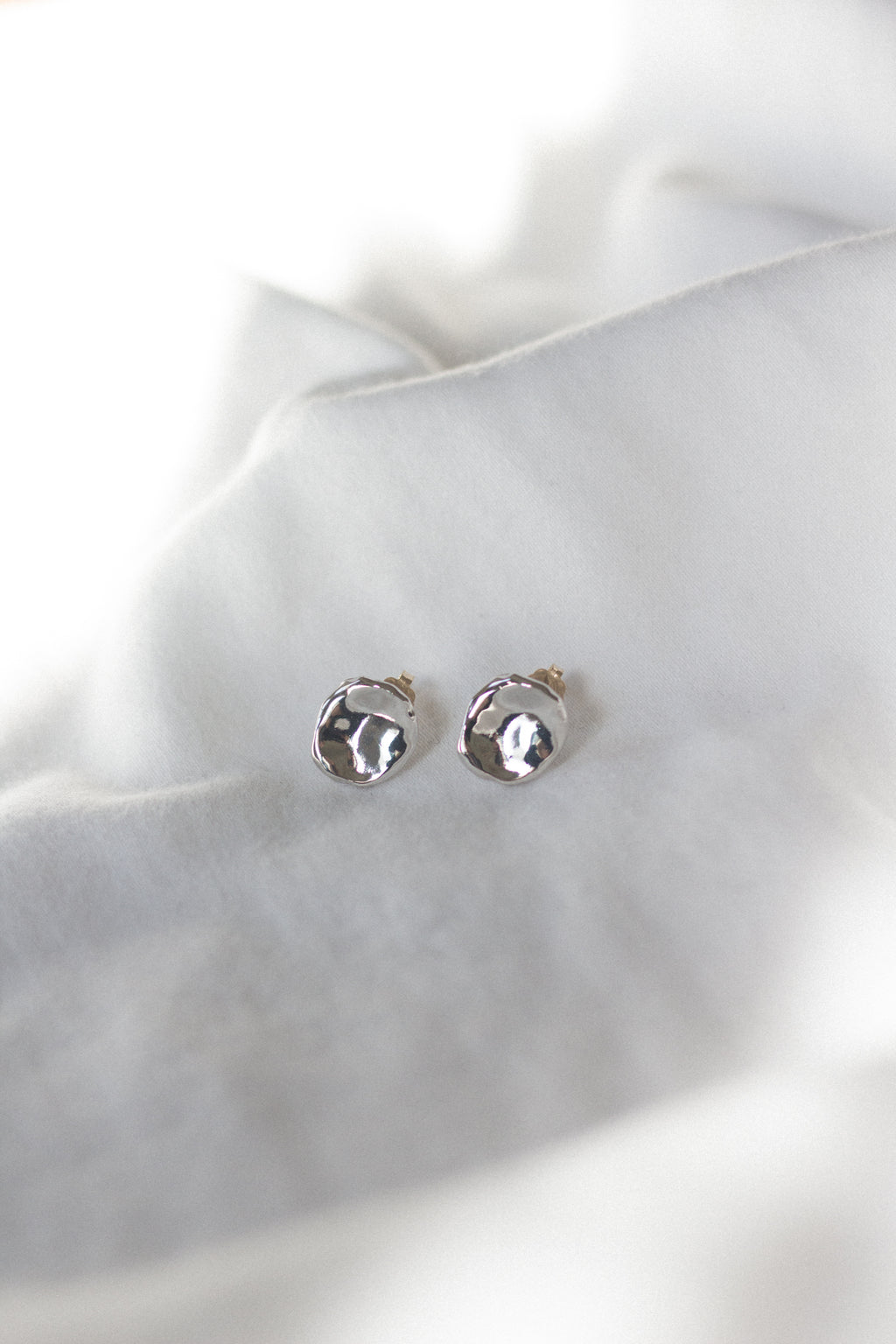 Flo Studs in Sterling Silver