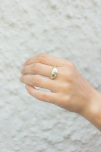 Amelia Signet Ring in Sterling Silver ☺