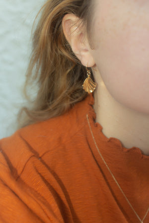 Julia Seashell Earrings ☺
