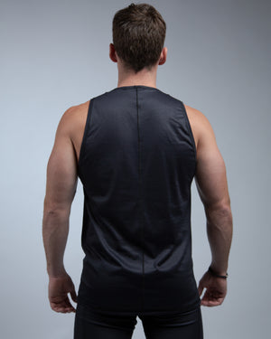 Mountain Muscle Tank-Black