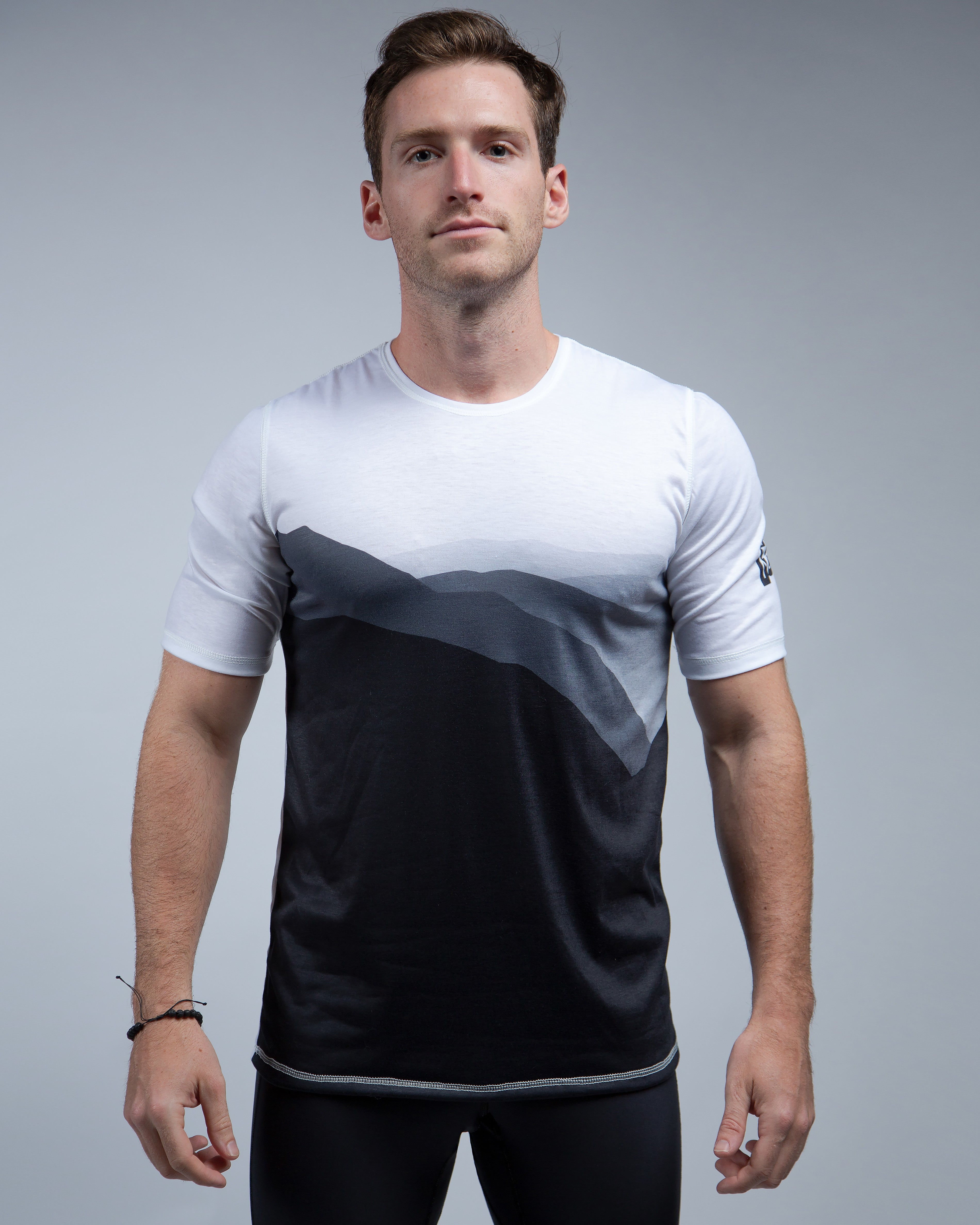 Mountain Tee-White