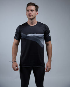Mountain Tee-Black