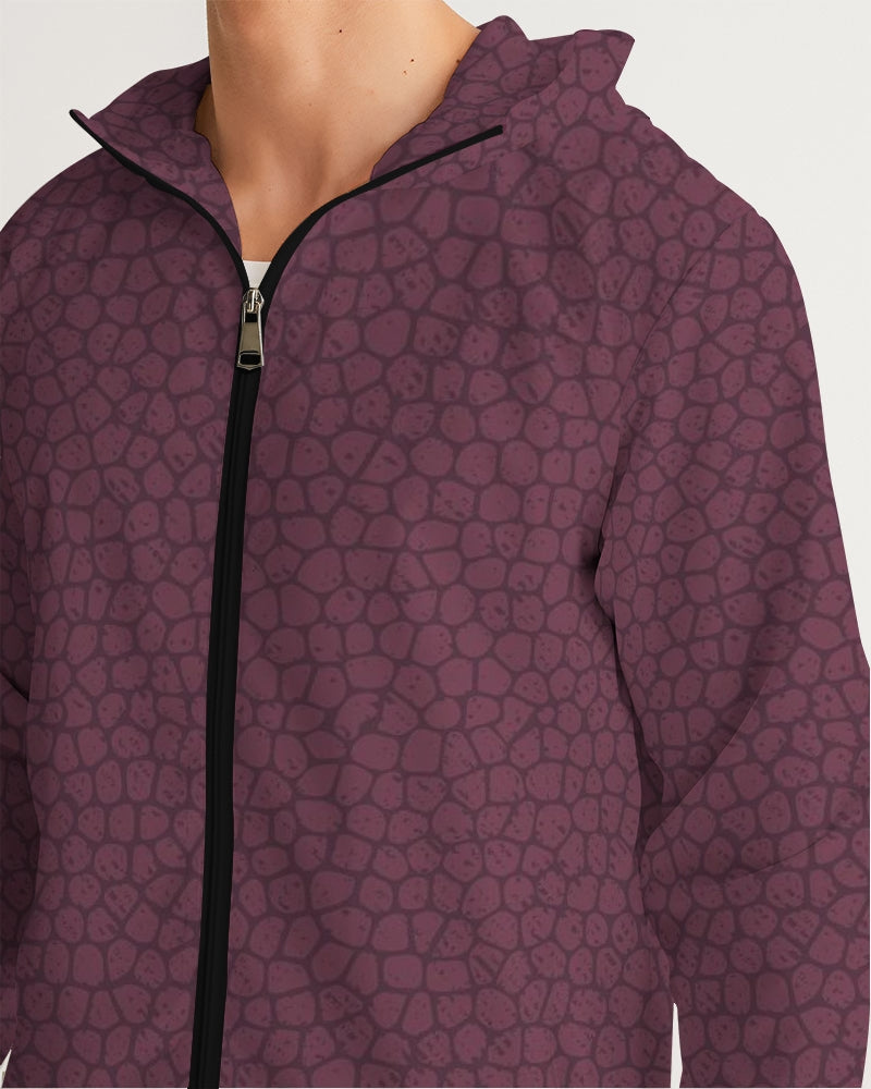 Wine Castle Men's Windbreaker