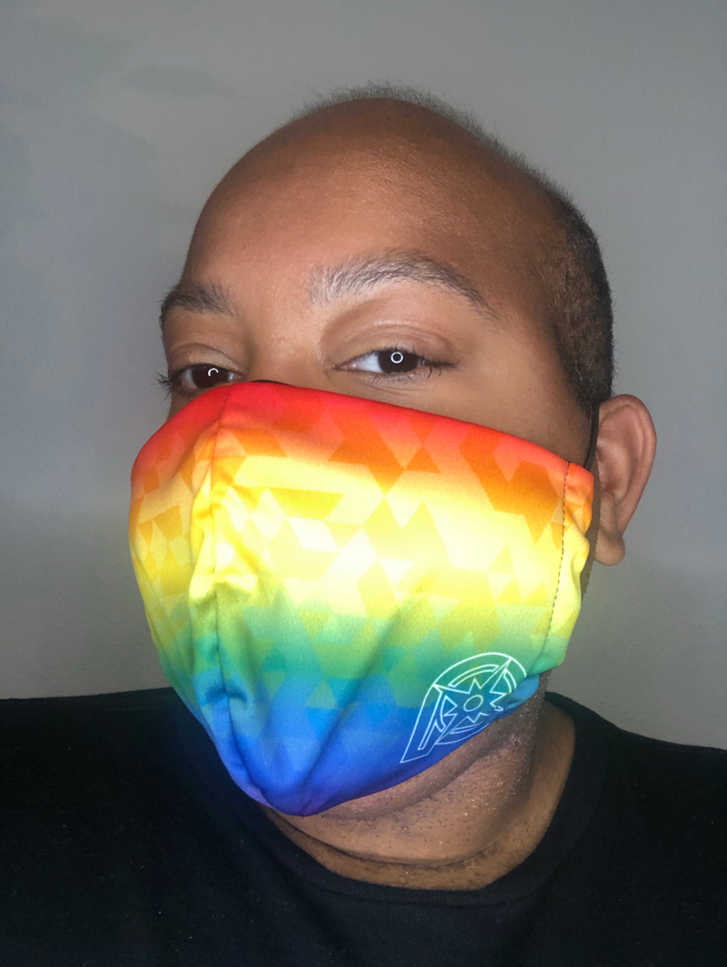 Rainbow Face Covering (3-pack)