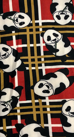 PANDA HIGH WAISTED LEGGINGS