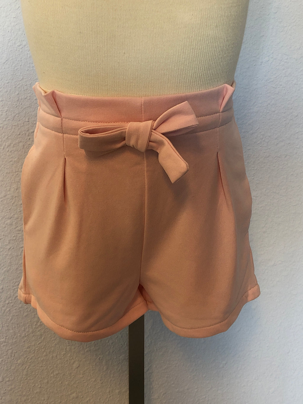 K TERRY BOW-TIE SHORT