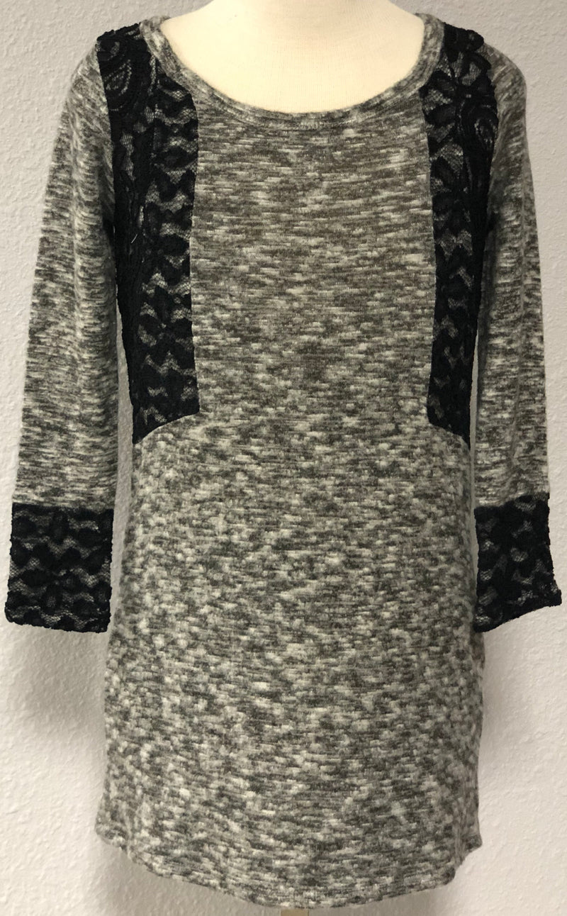 K LACY SWEATER DRESS
