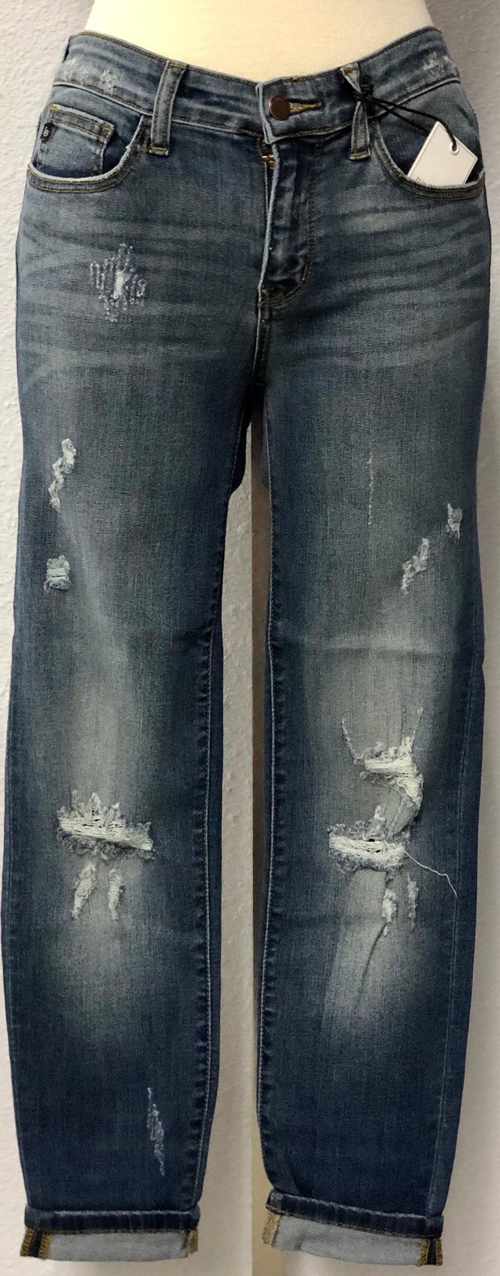 DESTROYED RELAXED FIT JEANS