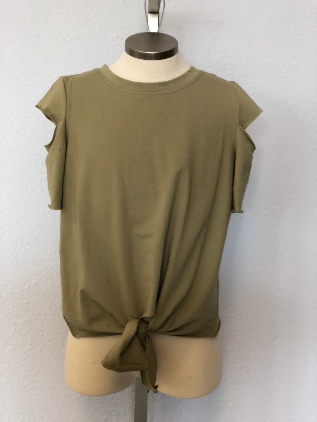 K CUTOUT TERRY TOP