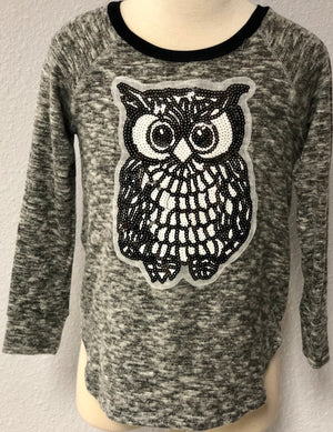 K OWL KNIT SWEATER