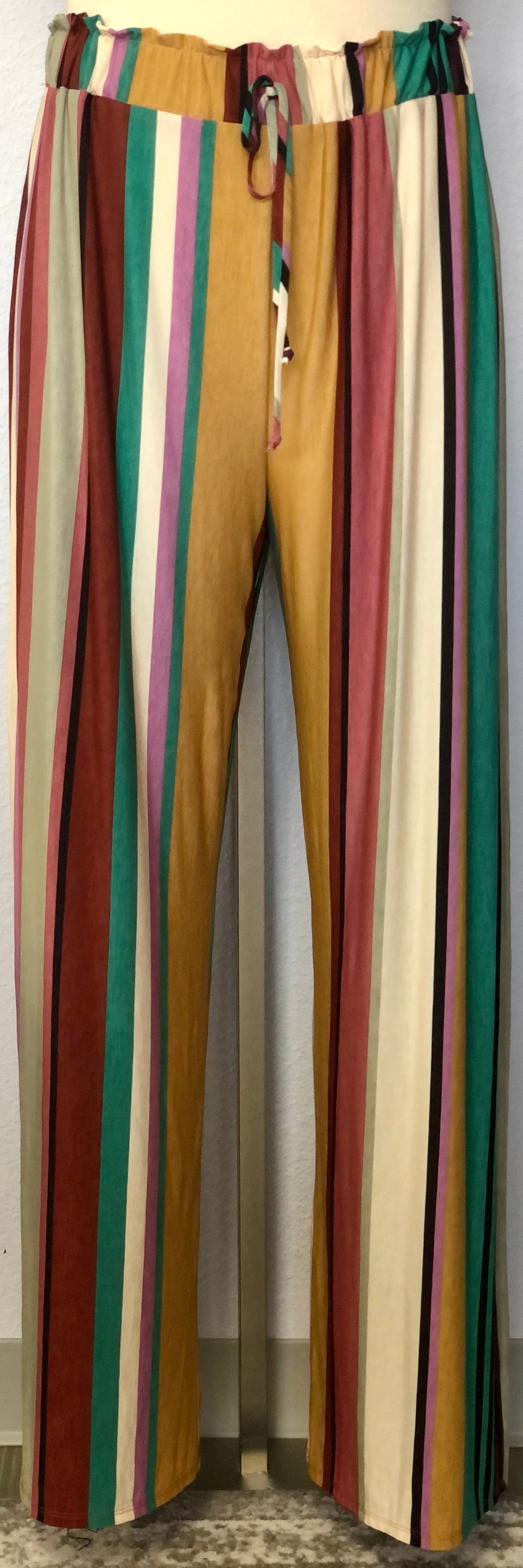 LONG STRIPED BULGARI PANT