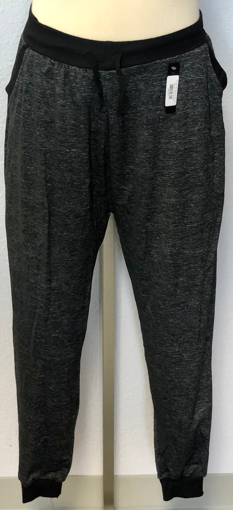 RELAXED FIT BANDED JOGGERS