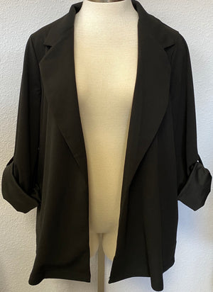ADJUSTABLE SLEEVE BLAZER