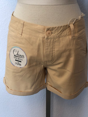 CHINO ROLLED CUFF SHORTS