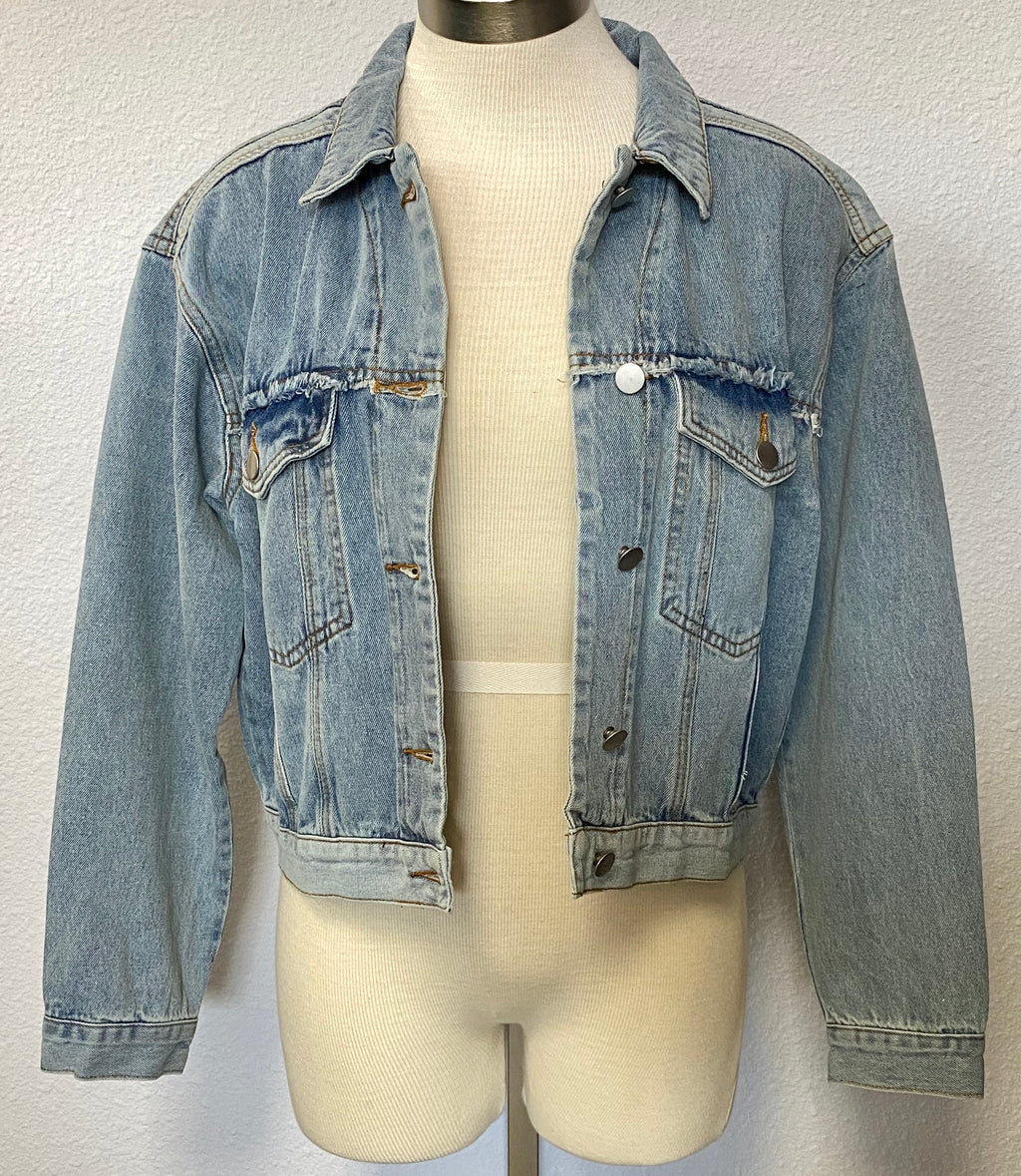 UNFINISHED LS DENIM JACKET