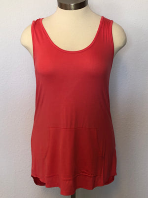 PLUS FRONT POCKET TUNIC