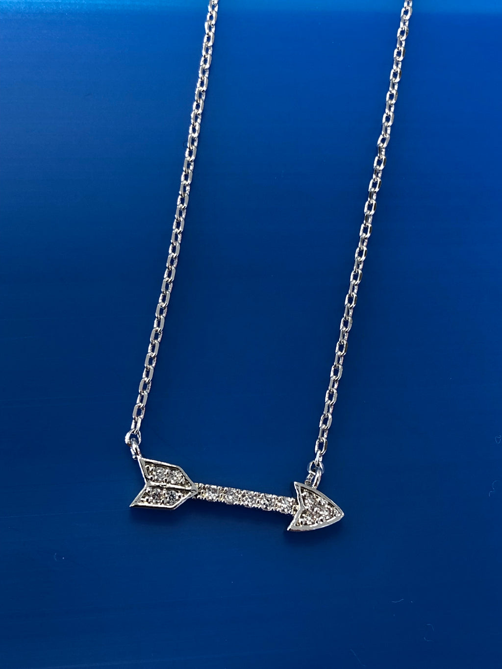 PAVE ARROW NECKLACE