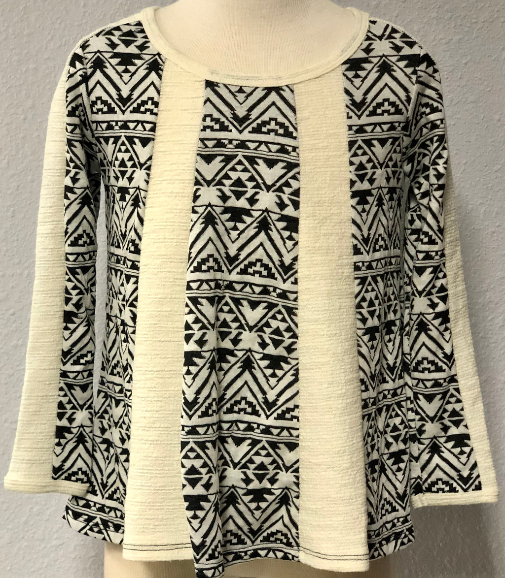 K TRIBAL SWING SWEATER