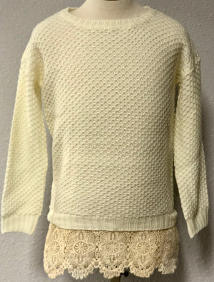 K CROCHET SWEATER
