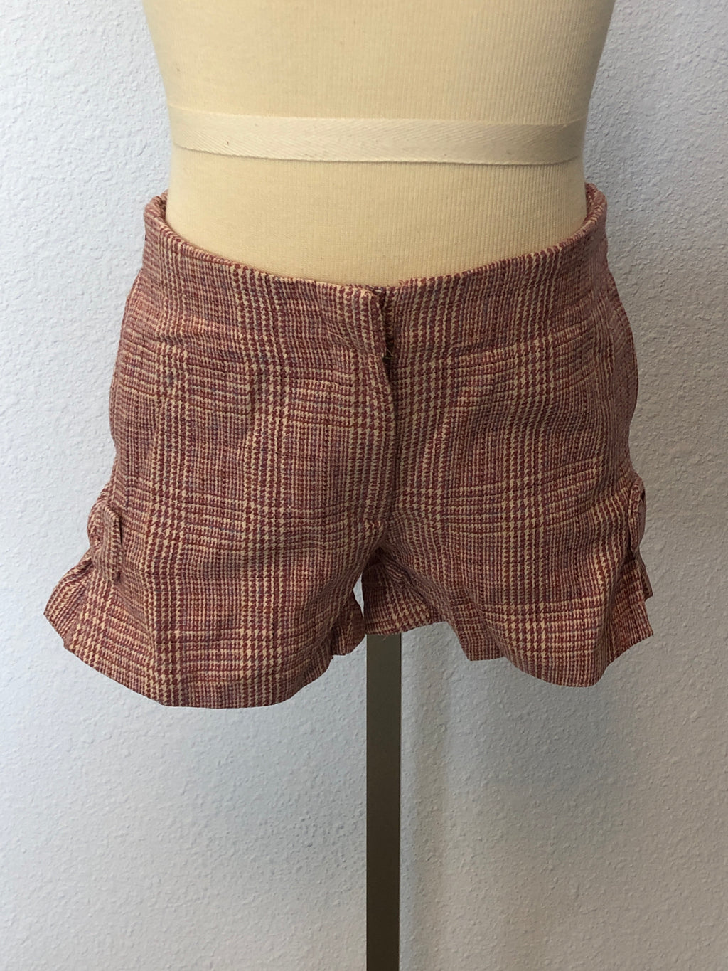 K PLAID TROUSER SHORT