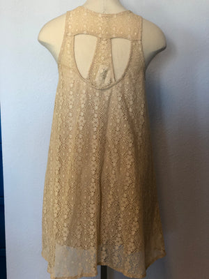 CUTOUT LACE SUNDRESS