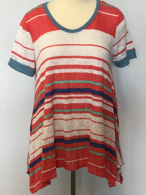 STRIPED SWING SHIRT