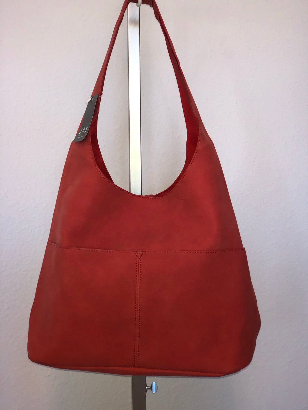 JENNY SUEDED HOBO HANDBAG