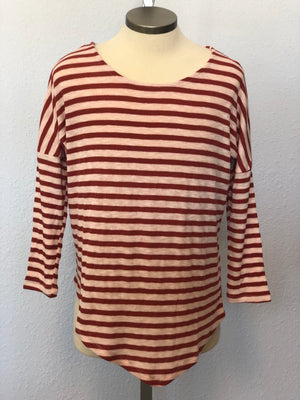 K STRIPE DOLMAN TOP