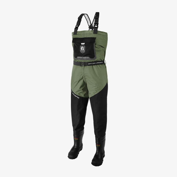 Swamp Insulated Waders - Olive