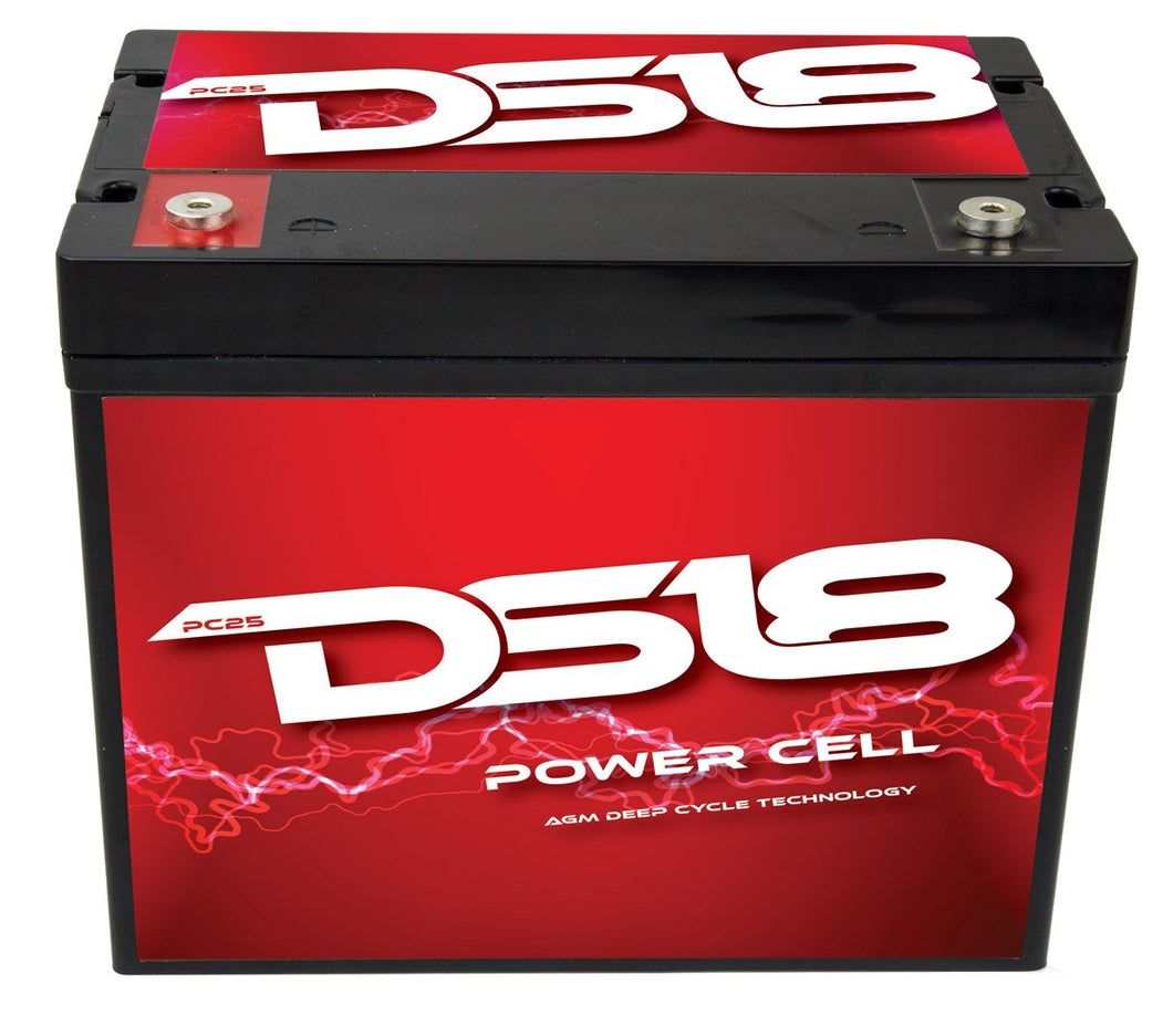 INFINITE 25 AH AGM POWER CELL BATTERY