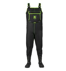 Men's Retro Series Neoprene Waders - Black/Lime