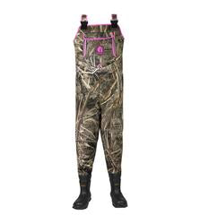 Women's Retro Series Neoprene Waders - Realtree Max-5/Pink